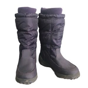 Cougar Devony Purple Girl's Pull on Winter Boots